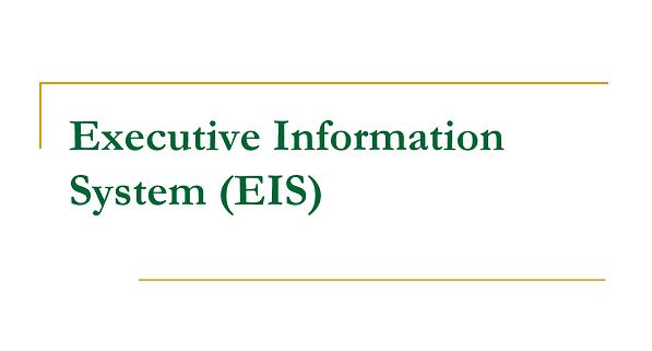 سیستمهای اطلاعاتی اجرایی | EIS