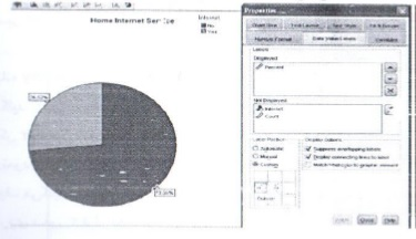 ساخت و ویرایش نمودارها (Chart) - نمودار دایره ای