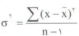 فرمول محاسبه نمونه
